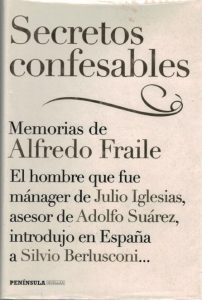 Alfredo Fraile: Secretos confesables